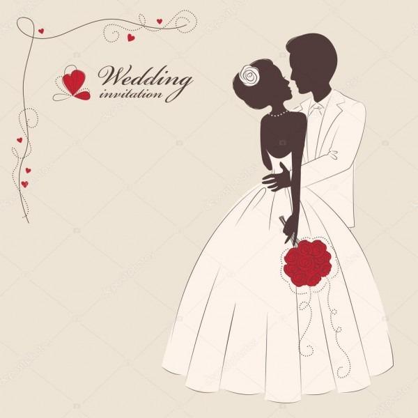 Convite de casamento — vetor de stock © sivanova  22924408