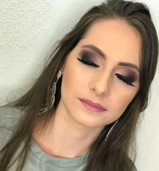 Bruna angeli » maquiagem para convite de formatura ♥