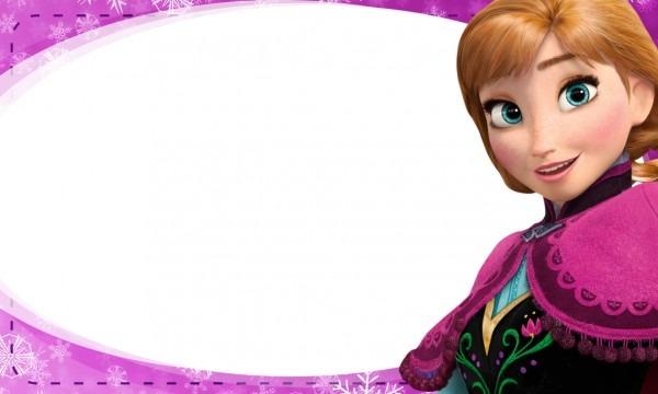 Etiqueta escolar personalizada anna frozen 2