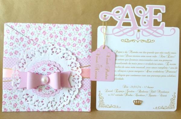 Dypapely design  convite de princesa