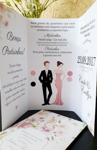 Manual padrinhos classico ii no elo7
