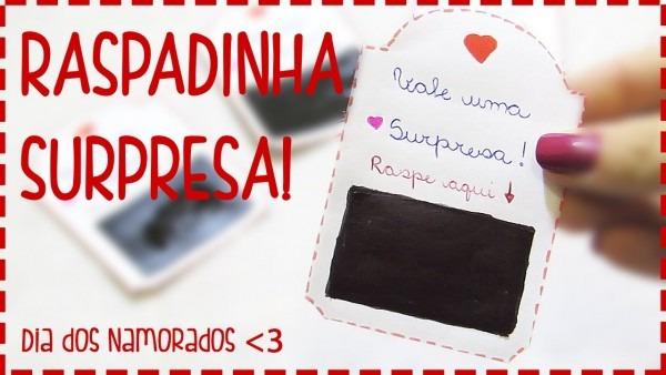 ♥ raspadinha do amor!