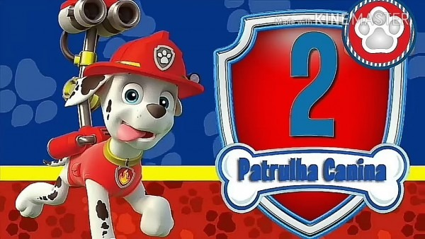 Convite animado patrulha canina para editar grátis