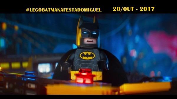 Convite animado lego batman o filme