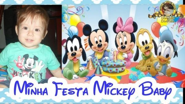 Mickey baby disney