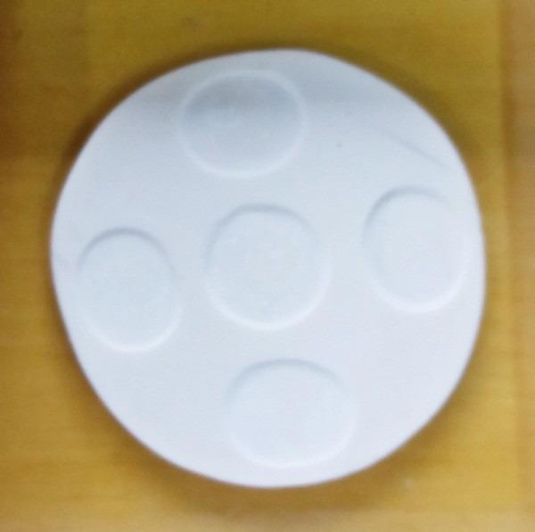 Molde de silicone logo lady bug no elo7