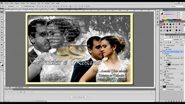 Novo de fazer convite casamento photoshop fa a voc mesmo tutorial