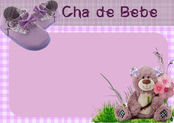 Kaxa da arte  convite chÁ de bebe   cha de fralda