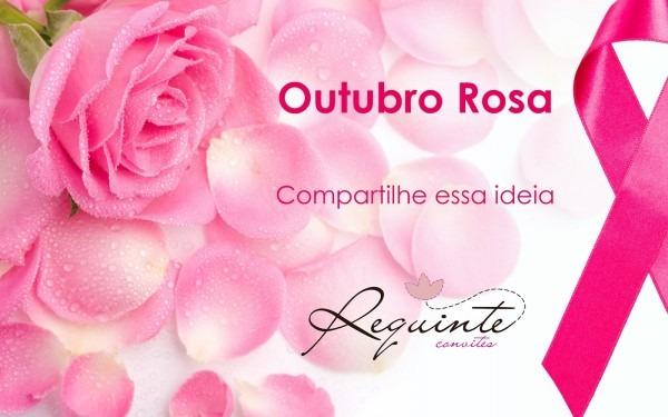 Requinte convites personalizados  outubro rosa