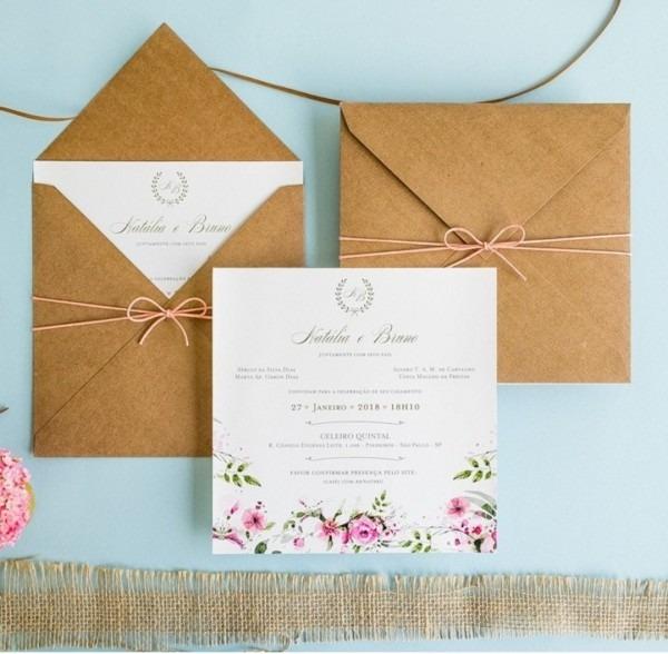 Como escolher o modelo de convite de casamento  – a noiva curiosa