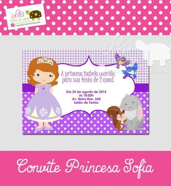 Tag; convite cha de bebe princesa sofia