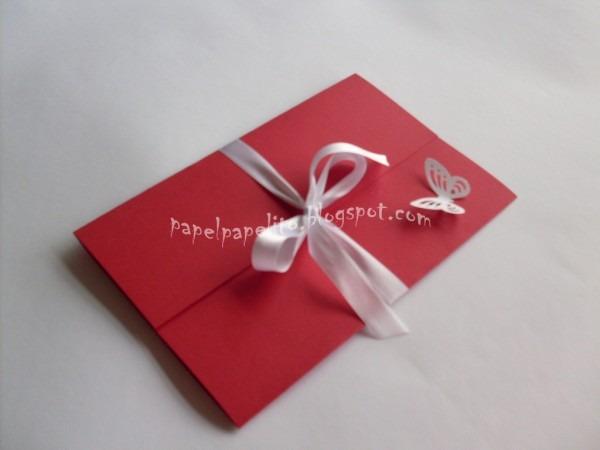 Papel papelito  convite de aniversário