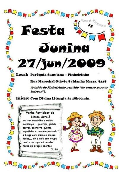 Confira dicas de convites para festa junina