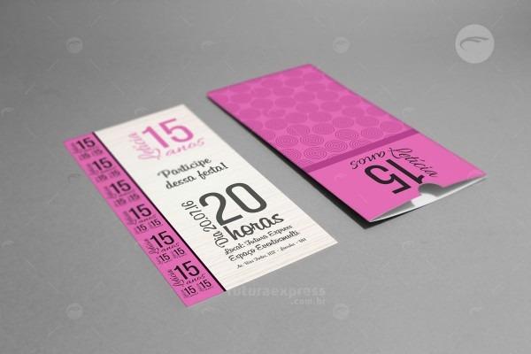 Convites com envelopes