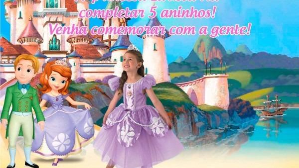 Como fazer convite de aniversario no photoshop cs6  princesasofia