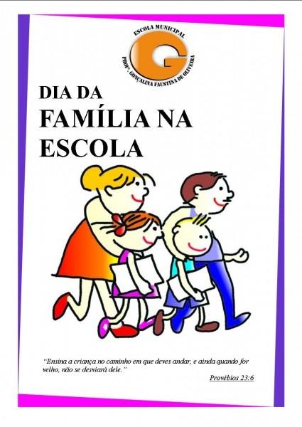 Dia da familia na escola