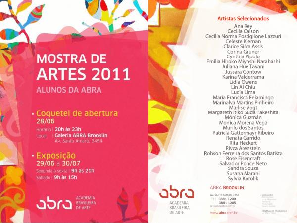 Mostra de artes 2011