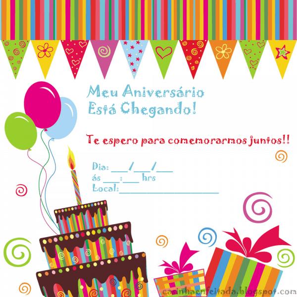 Casinha de criança  convites de aniversário para imprimir