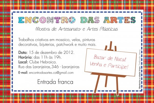 Ateliê arte & costura  convite para o encontro das artes