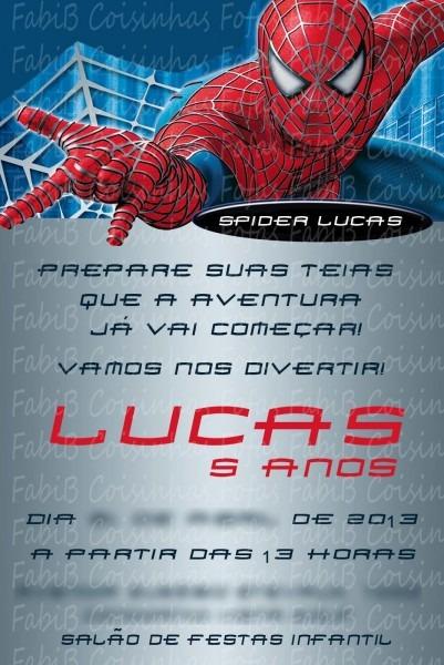 Fabi_b  convite homem aranha
