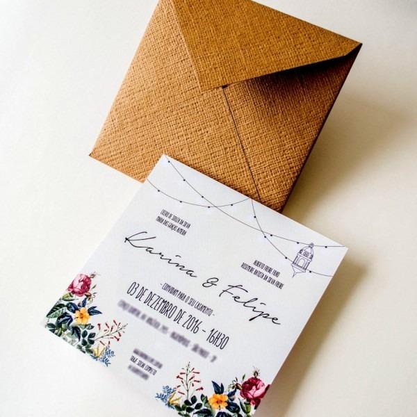 Elegante curso para fazer convites de casamento modelo convite
