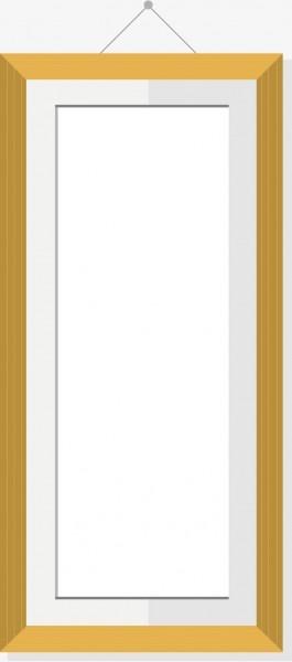 Moldura amarela o prego moldura molduras de formatura png e vetor