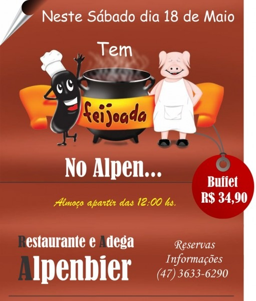 Blog do skiba  feijoada no alpembier