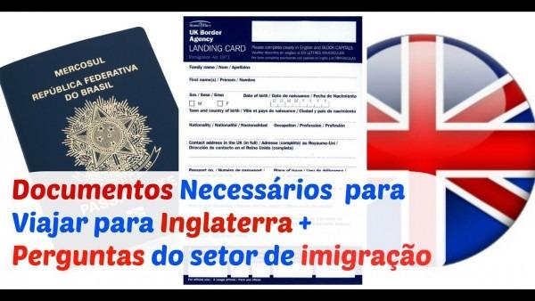 Como passar pela imigração da inglaterra