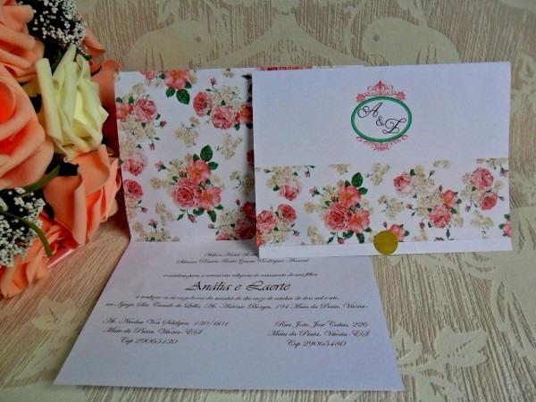 Melhor de convites casamento simples e barato mercado livre