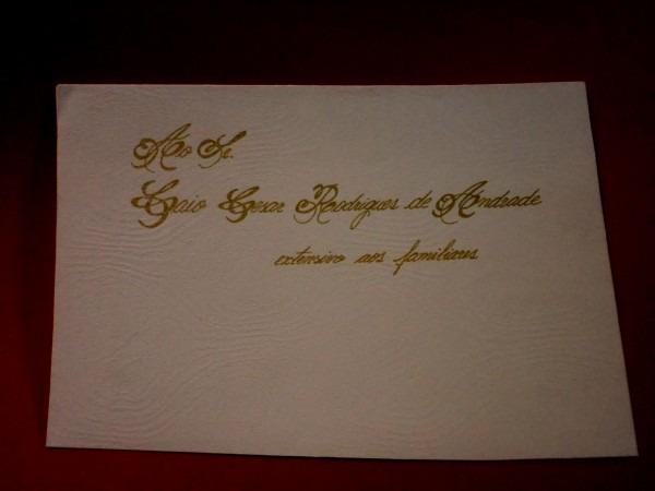 Nico de como escrever no envelope convite casamento ale rodrigues
