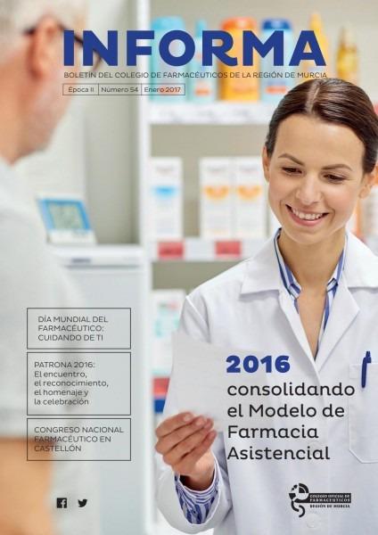 Informa nº 54 by colegio oficial de farmacéuticos de la región de