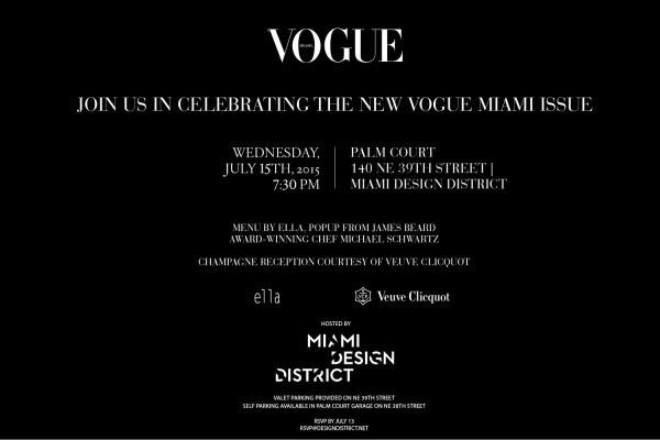Vogue miami  fique por dentro do coquetel de lançamento da revista