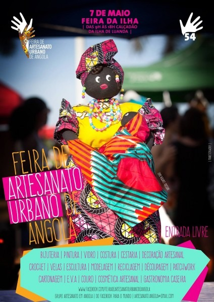 Feira de artesanato urbano de angola @calÇadÃo da ilha de luanda