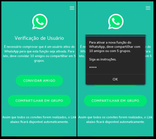 Novo golpe no whatsapp está afetando usuários brasileiros