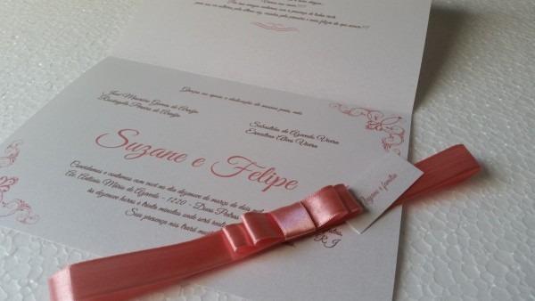 40 convites de casamento aspen