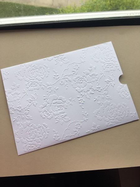 40 envelopes para convite de casamento luva 15x21,5