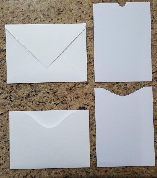50 envelopes para convites branco texturizado 15x21 cm