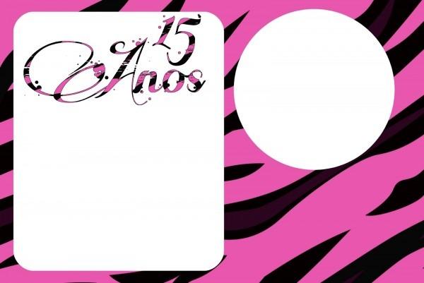 Festa completa – 15 anos pink e preto – segredinhos de mamãe