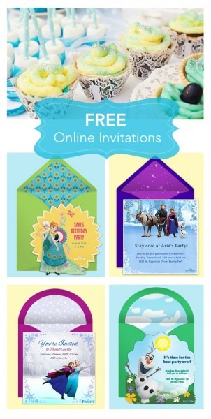 Introduces the disney online invitation collection