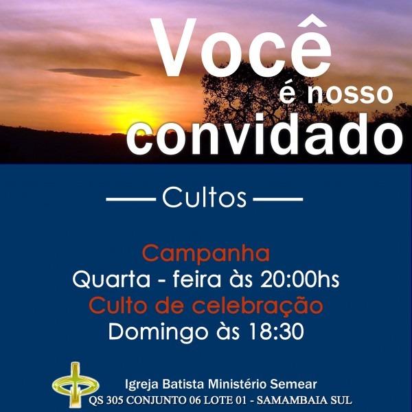 Convite evangelismo