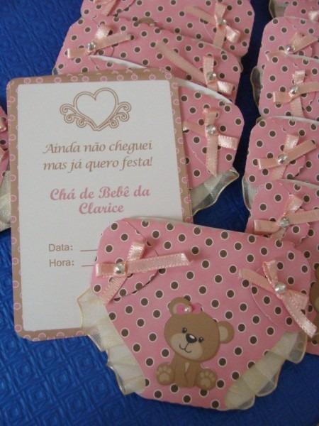Chá de bebê  dicas para convites personalizados e criativos