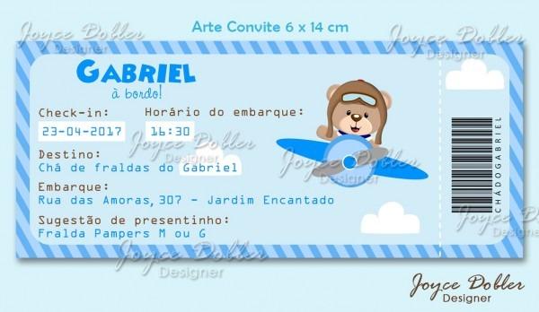 Arte digital convite chá de bebê   fraldas