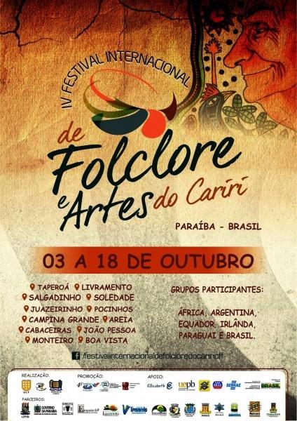 Iv festival internacional de folclore do cariri