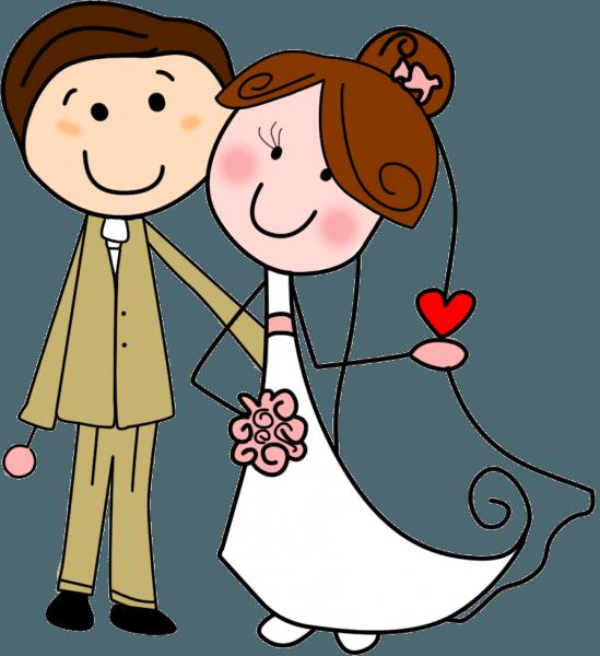 Casal de noivos para convite desenho png » png image