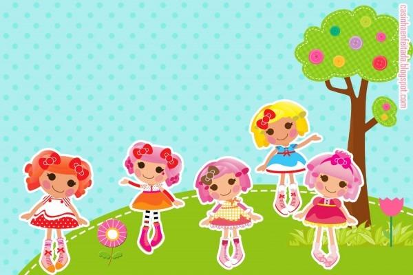 Casinha de criança  kit festa lalaloopsy para imprimir grátis