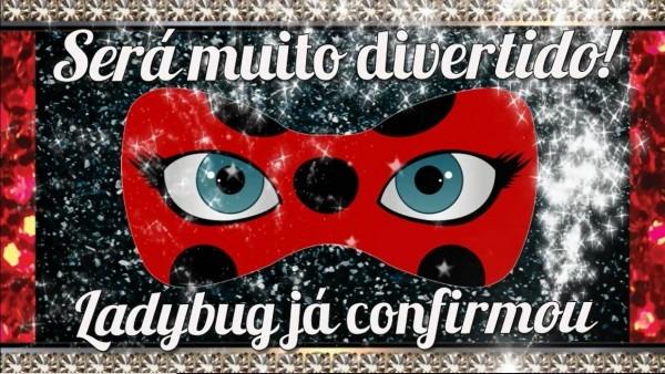 Convite animado miraculous ladybug frete grátis no elo7