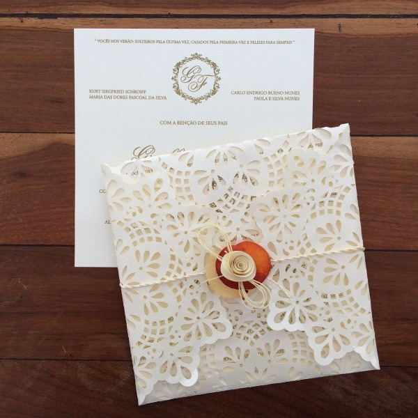 Convite casamento corte especial no elo7