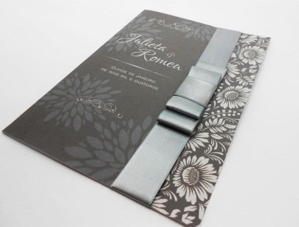 Convite de casamento, arte coreldraw, vetor