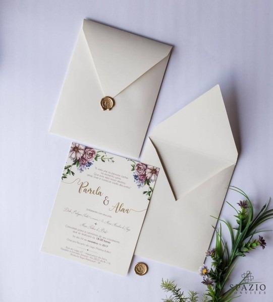 Convite de casamento em joinville