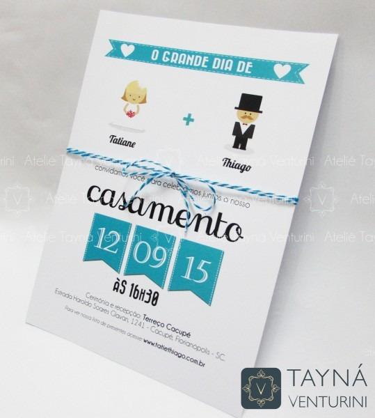 E02 convite de casamento grande dia no elo7